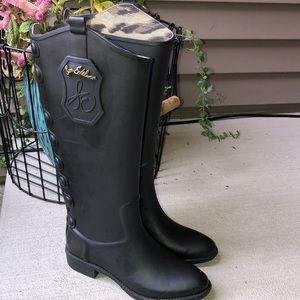Sam Edelman Tall Rain Boots 6